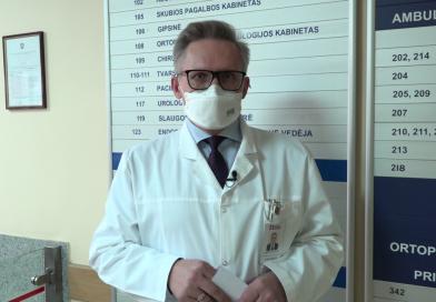 Mažeikių ligoninės direktoriaus kreipimasis